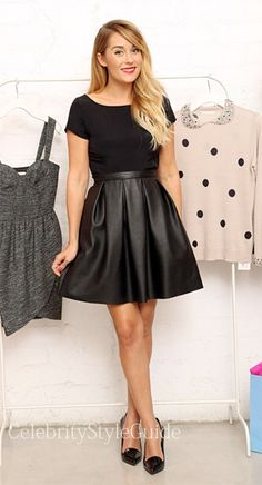 All-Matching Black A-Line PU Mini Skirt - OASAP.com | Short skirts ...