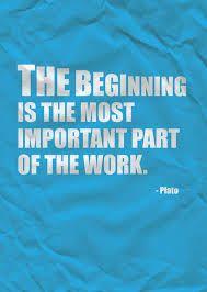 Beginning.