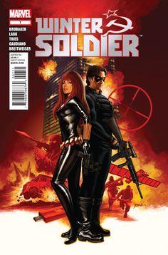 "February 2014 - ""Winter Soldier: Broken Arrow"" by E. Brubaker, M. Lark"