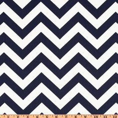 Premier Prints Zig Zag Twill Blue   Fabric.com $7.48/yard