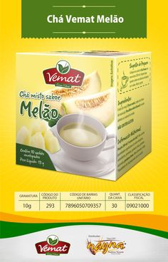 Chá Vemat Melão 10gr