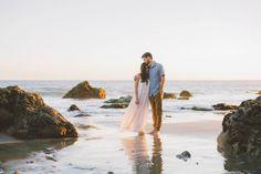Sunset Engagement at El Matador State Beach | Anna Delores Photography