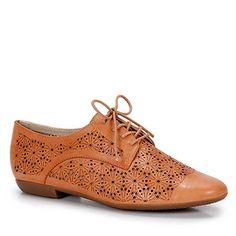 Sapato Oxford Feminino Bottero - Camel