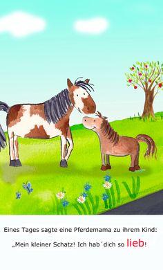 """""""Ich hab´ dich so lieb, kleines Pferdchen"""""""