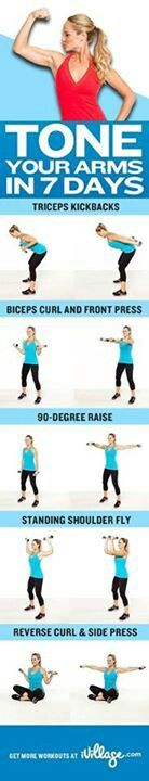 Arm tone workout