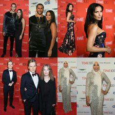 #Kaepernick(withNessa), #RonanFarrow(with Mia), #PadmaLakshmi, and #IbtihajMuhammad - all were at the #Time100 Gala last night!