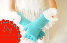 DIY Fingerless Gloves