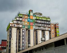 mill junction silo stacked container apartments overlook johannesburg