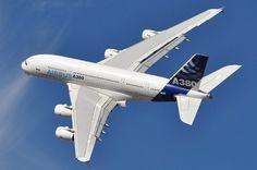"""Il transforme son A380 pour 500 millions de dollars, en... jet luxueux pour 20 passagers... L'Airbus A380 peut contenir jusqu'à 500 personnes, un prince saoudien en a fait un jet pour 20 personnes maximum pour finalement le mettre en vente avant même d'en prendre livraison ! (Cliquer sur les points pour une visite guidée en images du """"jet"""" XXL du prince saoudien)"""