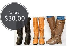Browse the Boot Blowout Sale at Jane! Select styles are 67% off. The price is slashed from $59.99 to only $19.99. Fourteen pairs are under $30.00 each with shipping included! Shipping is $9.95 for the first item and $7.95 for each additional item. The estimated ship date is on or before 1/14. To get started, click this …