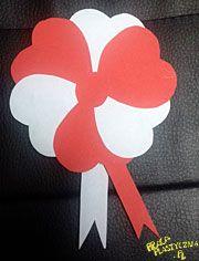 Kotylion z papieru Marathi Calligraphy Font, Paper Toys, Paper Crafts, Valentine Crafts, Valentines, Grandmother's Day, Art For Kids, Crafts For Kids, Craft Punches