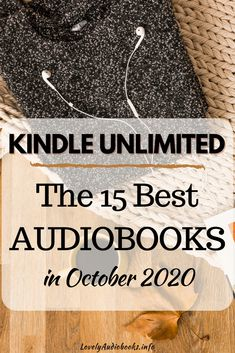 Here are the 15 best audiobooks in Kindle Unlimited in October 2020 for women and for men! These great Romance, Thriller, Suspense, Nonfiction and Fiction books have all been released in the last month and are already a big hit with readers and listeners. And for Kindle Unlimited subscribers, they are all actually free audiobooks! You can listen to them in your usual Audible app. Click to check out all 15 best audiobooks in Kindle Unlimited in October 2020.