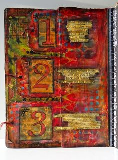 Marjie Kemper art journal link includes instructions on how to embed the tags to the page Kemperjournal22213
