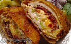 Érdekel a receptje? Kattints a képre! Wok, Cheesesteak, Baked Potato, Bacon, Sandwiches, Food And Drink, Favorite Recipes, Meals, Ethnic Recipes