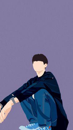 Boys Wallpaper, Wallpaper Iphone Cute, Theory Of Love, Cute Teenage Boys, Handsome Faces, Digital Portrait, Portrait Illustration, Girl Cartoon, Disney Art