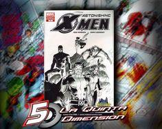 ASTONISHING X-MEN # 13 PORTADA VARIANTE DE MIDTOWN COMICS. $ 150.00 Para más información, contáctanos en http://www.facebook.com/la5aDimension