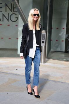 streetstyle classic fashion streetstyle celebs denim streetstyle streetstyle blogger fashion jeans street fashion style fashion london fashion