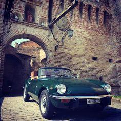 Outside #Corinaldo medieval walls - Regione Marche, Italy