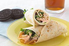 Buffalo Chicken Wrap Sandwich