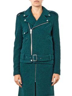 Irena boiled-wool biker jacket | Rika | MATCHESFASHION.COM