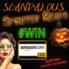 #Win a  $300 Amazon GC GIVEAWAY! #WIN http://christinamandara.com/giveaways/scandalous-spirited-reads-200-amazon-gc-giveaway-win/?lucky=15779 via @naughtynell101