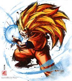 Dragon Ball - Son Goku SSJ3