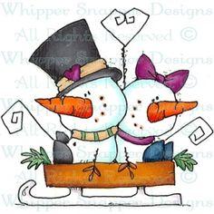 Snowman's Sleigh Date