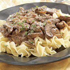 Weight Watchers Beef Stroganoff Recipe | Yummly