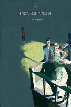 Marc Aspinall's cover for The Great Gatsby...