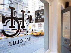 / Hat Club SoHo shop by theUPstudio New York /