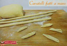 cavatelli fatti a mano ricetta pasta fresca fatta in casa