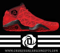 Drose concept 4 http://www.charlessollarsconcepts.com/d-rose-concepts-shoes/ #adidas #nba #bulls #rose #chicago #thereturn