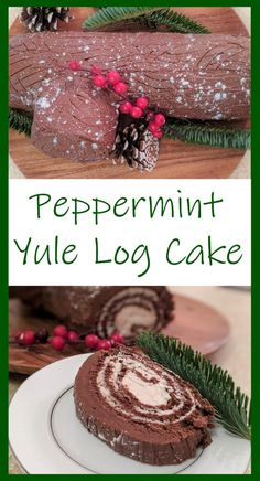 Easy to make and absolutely delicious, this step by step recipe takes all the guesswork out of making a yule log in your very own kitchen!  #butfirstcookies #yulelog #christmas #christmasdessert #christmasrecipe
