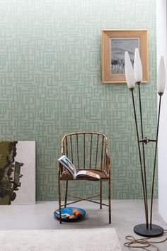 Discover our handcrafted wallpapers made using Farrow & Ball paints Shop by pattern and order wallpaper samples and wallpaper rolls online Farrow Ball, Farrow And Ball Paint, Wallpaper Samples, Decoration, Toilet, Inspiration, Chair, Storage, Room