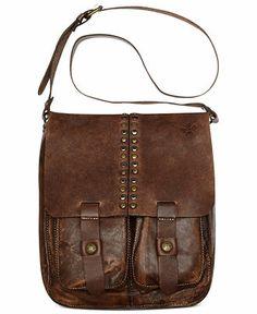 Patricia Nash Handbag, Vintage Washed Armeno Messenger Bag - Handbags & Accessories - Macy's