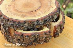 "The ""Storage Stump"" |  Hidden Log Organiser"