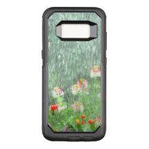 Flower Garden in the Rain OtterBox Commuter Samsung Galaxy S8 Case
