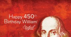 Celebrate Shakespeare's Birthday with us! Book a ticket for any of the performances listed below and get another ticket absolutely free! Shakespeare Theatre, William Shakespeare, Stratford Festival, Embedded Image Permalink, Musicals, Literature, Ontario, Ticket, Writers
