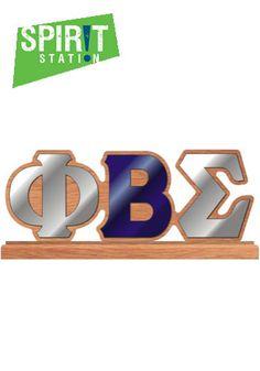 Phi Beta Sigma Desktop Letters- On sale this week 2/10-2/16/13