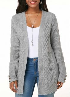 Buy Sweaters And Cardigans Online, Cardigan Sweaters For Women, Ladies Sweaters Cardigans Cable Knit Cardigan, Cardigan Pattern, Cardigan Sweaters For Women, Long Cardigan, Cardigans For Women, Sweater Cardigan, Ladies Sweaters, Women's Sweaters, Cheap Cardigans