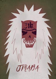 Jiraiya skull