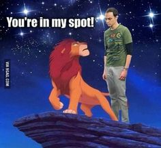 Sheldon cooper Big bang theory Comedy You're in my spot! Memes Humor, Funny Memes, Hilarious, Movie Memes, Top Memes, Funniest Memes, Funny Shit, Funny Stuff, The Big Theory