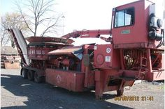 Browse our selection of used heavy equipment for sale. We carry hundreds of machines ranging from tub and horizontal grinders to bark blowers, mulchers, screeners and more. Call today for more information about our inventory. Heavy Equipment For Sale, Toys For Boys, Tub, Big Boys, Bath Tub, Soaking Tubs, Bathtubs, Bathtub, Bath