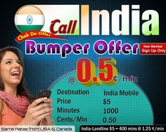 Cheapest calling to India