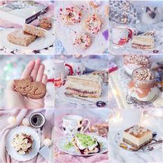 Lekki sernik z truskawkami i pianką bez cukru - Fitkot Krispie Treats, Rice Krispies, Espresso, Cereal, Baking, Breakfast, Cake, Fitness, Food