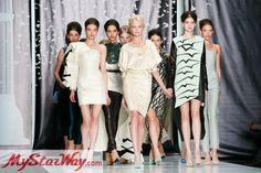 Новая коллекция Даши Гаузер осень-зима 2014/15 на Неделе моды MBFWR http://www.mystarway.com/news/13589/