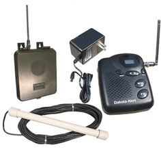 MURS Wireless Probe Vehicle Detector Driveway Alarm System, MAPSBSKIT