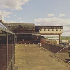 A beautiful day to see the ugliest building in #britain! Construction started on…