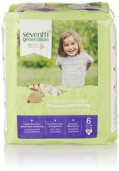 Big Savings! Seventh Generation Free and Clear Baby Diapers now on sale!