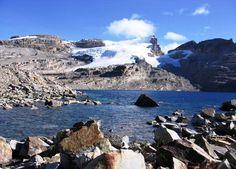 Nieve y espectaculares paisajes en la Sierra Nevada del Cocuy